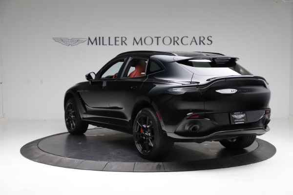 New 2021 Aston Martin DBX SUV for sale $200,986 at Pagani of Greenwich in Greenwich CT 06830 4