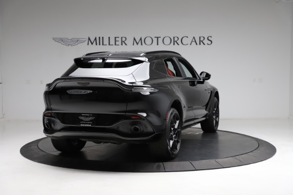 New 2021 Aston Martin DBX SUV for sale $200,986 at Pagani of Greenwich in Greenwich CT 06830 6