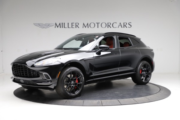 New 2021 Aston Martin DBX SUV for sale $200,986 at Pagani of Greenwich in Greenwich CT 06830 1