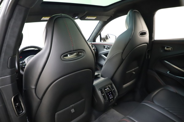 New 2021 Aston Martin DBX SUV for sale $212,686 at Pagani of Greenwich in Greenwich CT 06830 18