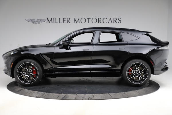 New 2021 Aston Martin DBX SUV for sale $212,686 at Pagani of Greenwich in Greenwich CT 06830 2