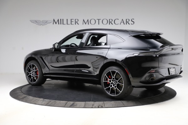 New 2021 Aston Martin DBX SUV for sale $212,686 at Pagani of Greenwich in Greenwich CT 06830 3
