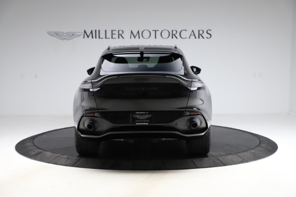New 2021 Aston Martin DBX SUV for sale $212,686 at Pagani of Greenwich in Greenwich CT 06830 5