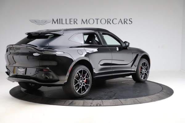 New 2021 Aston Martin DBX SUV for sale $212,686 at Pagani of Greenwich in Greenwich CT 06830 7