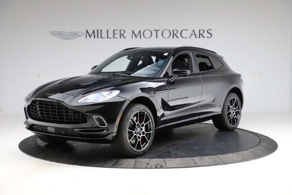 New 2021 Aston Martin DBX SUV for sale $212,686 at Pagani of Greenwich in Greenwich CT 06830 1