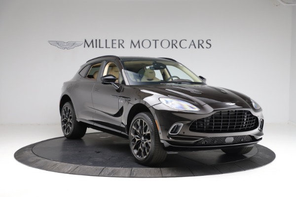 New 2021 Aston Martin DBX for sale $215,386 at Pagani of Greenwich in Greenwich CT 06830 10