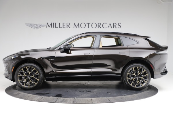 New 2021 Aston Martin DBX SUV for sale $215,386 at Pagani of Greenwich in Greenwich CT 06830 2