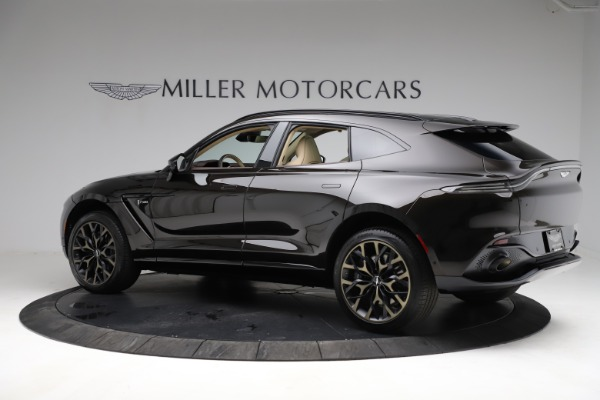 New 2021 Aston Martin DBX SUV for sale $215,386 at Pagani of Greenwich in Greenwich CT 06830 3