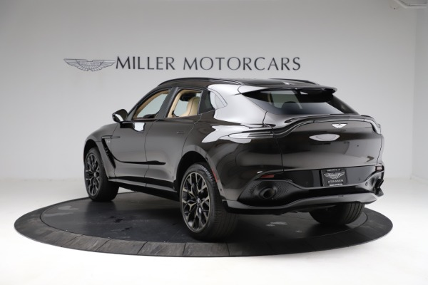 New 2021 Aston Martin DBX SUV for sale $215,386 at Pagani of Greenwich in Greenwich CT 06830 4