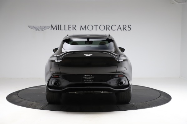 New 2021 Aston Martin DBX SUV for sale $215,386 at Pagani of Greenwich in Greenwich CT 06830 5