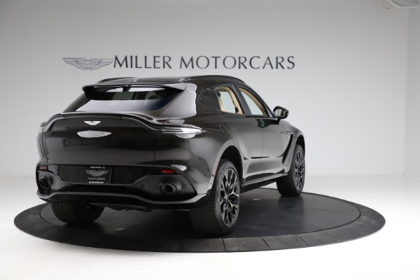 New 2021 Aston Martin DBX SUV for sale $215,386 at Pagani of Greenwich in Greenwich CT 06830 6