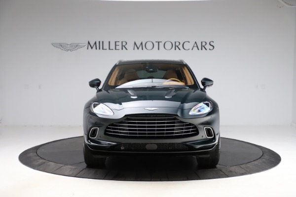 New 2021 Aston Martin DBX SUV for sale $221,386 at Pagani of Greenwich in Greenwich CT 06830 10