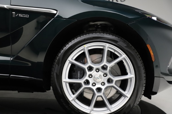 New 2021 Aston Martin DBX SUV for sale $221,386 at Pagani of Greenwich in Greenwich CT 06830 22