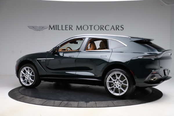 New 2021 Aston Martin DBX SUV for sale $221,386 at Pagani of Greenwich in Greenwich CT 06830 3