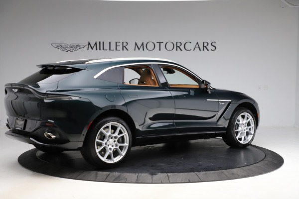 New 2021 Aston Martin DBX SUV for sale $221,386 at Pagani of Greenwich in Greenwich CT 06830 7