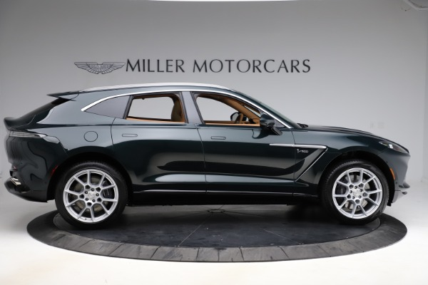 New 2021 Aston Martin DBX SUV for sale $221,386 at Pagani of Greenwich in Greenwich CT 06830 8