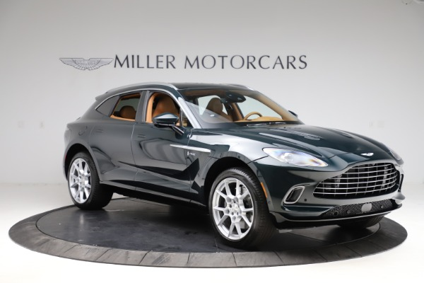 New 2021 Aston Martin DBX SUV for sale $221,386 at Pagani of Greenwich in Greenwich CT 06830 9