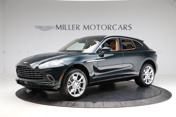 New 2021 Aston Martin DBX SUV for sale $221,386 at Pagani of Greenwich in Greenwich CT 06830 1