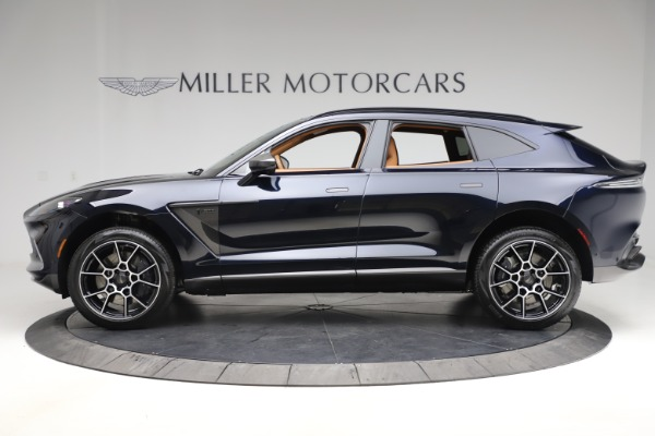 New 2021 Aston Martin DBX SUV for sale $264,386 at Pagani of Greenwich in Greenwich CT 06830 2