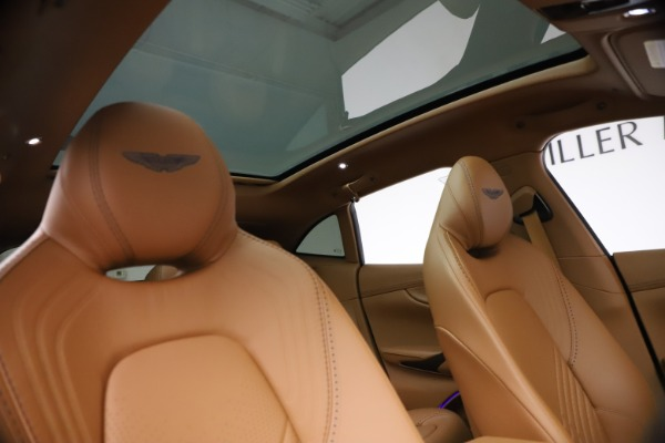 New 2021 Aston Martin DBX SUV for sale $264,386 at Pagani of Greenwich in Greenwich CT 06830 21