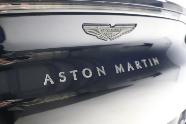 New 2021 Aston Martin DBX SUV for sale $264,386 at Pagani of Greenwich in Greenwich CT 06830 25