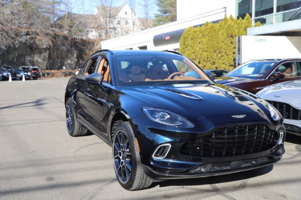 New 2021 Aston Martin DBX SUV for sale $264,386 at Pagani of Greenwich in Greenwich CT 06830 28
