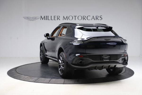 New 2021 Aston Martin DBX SUV for sale $264,386 at Pagani of Greenwich in Greenwich CT 06830 4