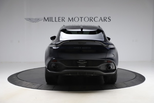 New 2021 Aston Martin DBX SUV for sale $264,386 at Pagani of Greenwich in Greenwich CT 06830 5
