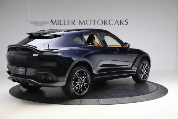 New 2021 Aston Martin DBX SUV for sale $264,386 at Pagani of Greenwich in Greenwich CT 06830 7