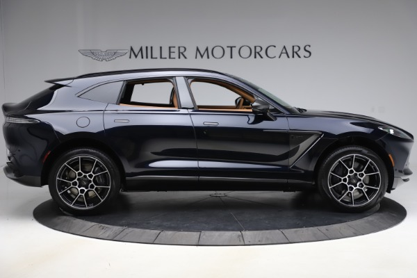 New 2021 Aston Martin DBX SUV for sale $264,386 at Pagani of Greenwich in Greenwich CT 06830 8