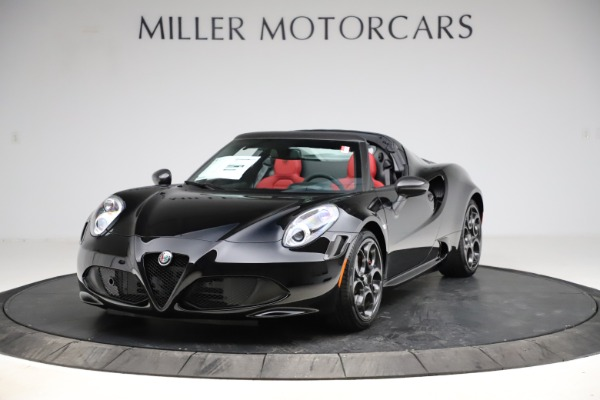 New 2020 Alfa Romeo 4C Spider for sale $75,445 at Pagani of Greenwich in Greenwich CT 06830 1