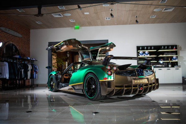 Used 2017 Pagani Huayra BC for sale Call for price at Pagani of Greenwich in Greenwich CT 06830 2