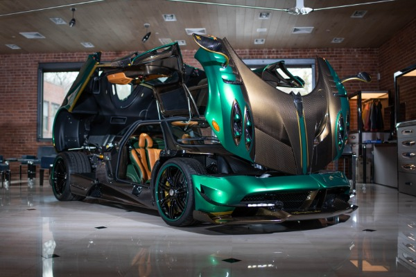 Used 2017 Pagani Huayra BC for sale Call for price at Pagani of Greenwich in Greenwich CT 06830 3