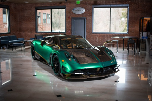 Used 2017 Pagani Huayra BC for sale Call for price at Pagani of Greenwich in Greenwich CT 06830 1