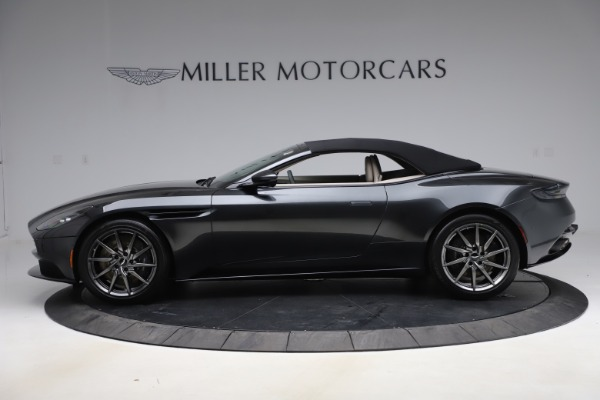New 2021 Aston Martin DB11 Volante Convertible for sale $270,386 at Pagani of Greenwich in Greenwich CT 06830 12