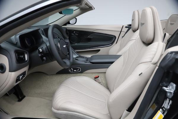 New 2021 Aston Martin DB11 Volante Convertible for sale $270,386 at Pagani of Greenwich in Greenwich CT 06830 18