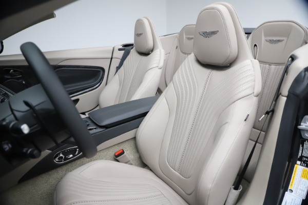 New 2021 Aston Martin DB11 Volante Convertible for sale $270,386 at Pagani of Greenwich in Greenwich CT 06830 20