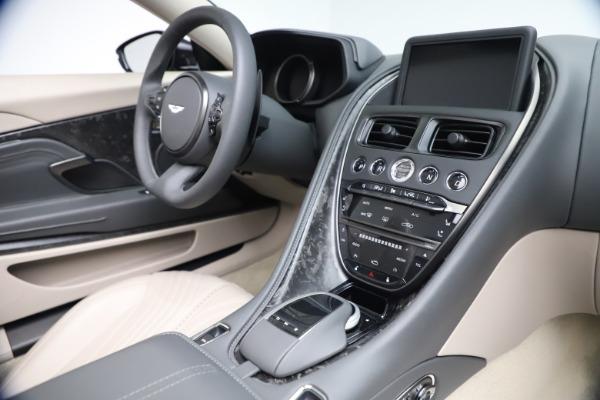 New 2021 Aston Martin DB11 Volante Convertible for sale $270,386 at Pagani of Greenwich in Greenwich CT 06830 23