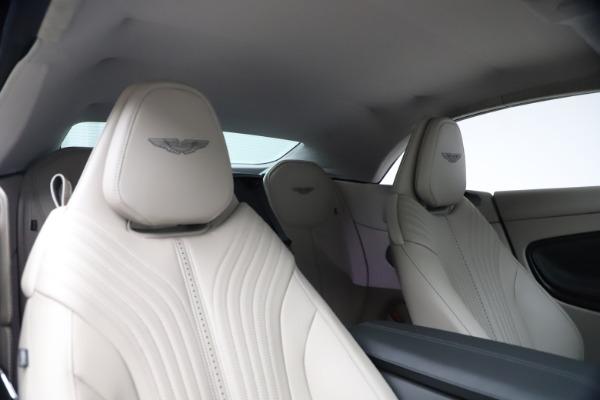 New 2021 Aston Martin DB11 Volante Convertible for sale $270,386 at Pagani of Greenwich in Greenwich CT 06830 25