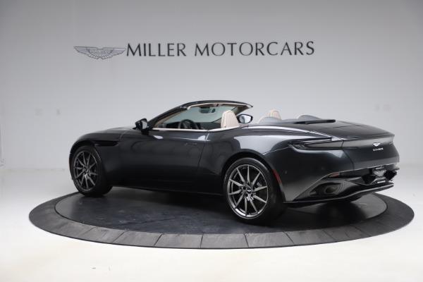 New 2021 Aston Martin DB11 Volante Convertible for sale $270,386 at Pagani of Greenwich in Greenwich CT 06830 3