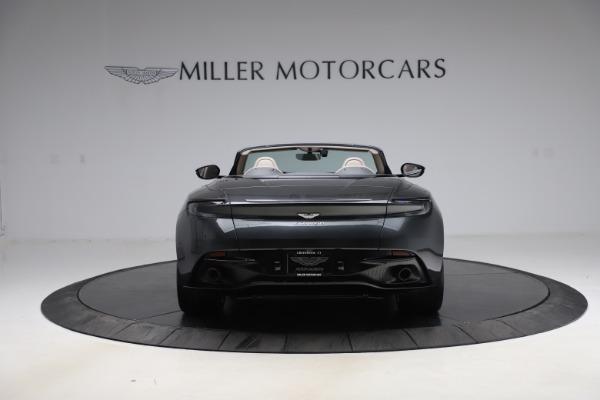 New 2021 Aston Martin DB11 Volante Convertible for sale $270,386 at Pagani of Greenwich in Greenwich CT 06830 5