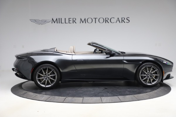 New 2021 Aston Martin DB11 Volante Convertible for sale $270,386 at Pagani of Greenwich in Greenwich CT 06830 7