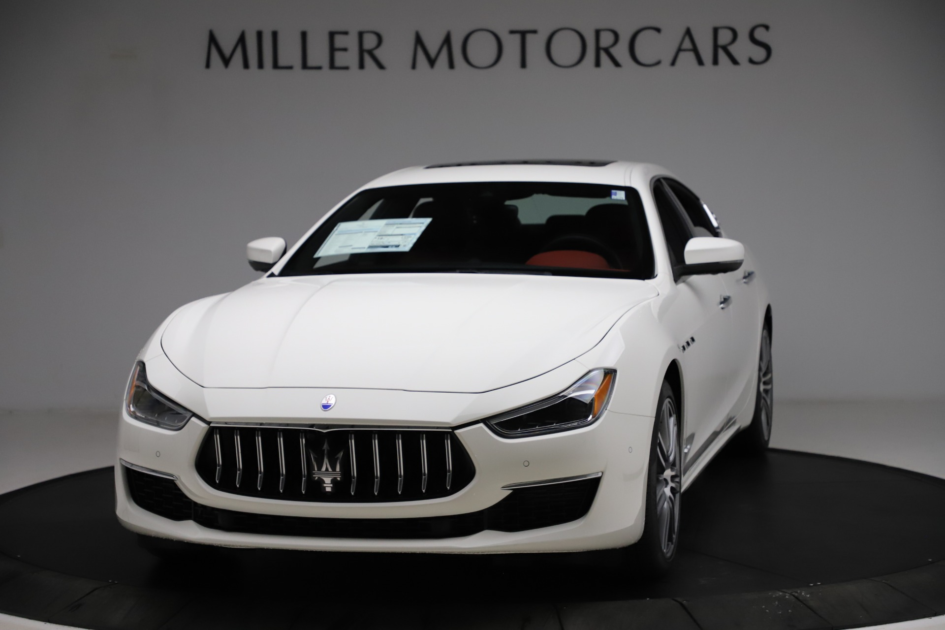 New 2021 Maserati Ghibli S Q4 GranLusso for sale $95,835 at Pagani of Greenwich in Greenwich CT 06830 1