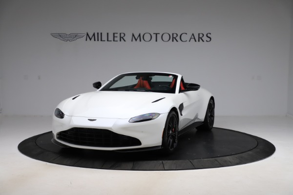 New 2021 Aston Martin Vantage Roadster Convertible for sale $189,186 at Pagani of Greenwich in Greenwich CT 06830 12