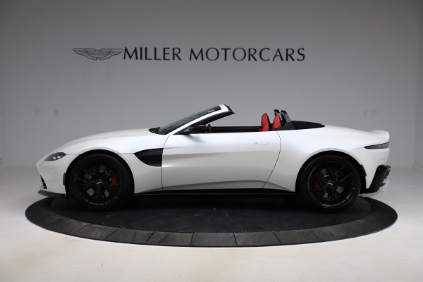 New 2021 Aston Martin Vantage Roadster Convertible for sale $189,186 at Pagani of Greenwich in Greenwich CT 06830 2
