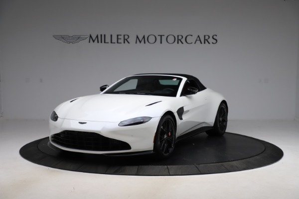 New 2021 Aston Martin Vantage Roadster Convertible for sale $189,186 at Pagani of Greenwich in Greenwich CT 06830 21