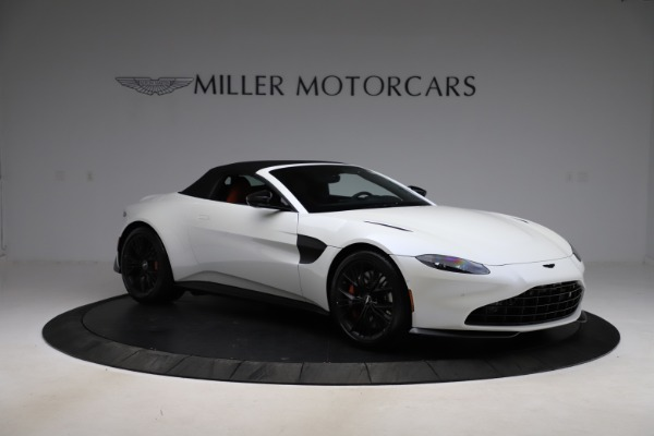 New 2021 Aston Martin Vantage Roadster Convertible for sale $189,186 at Pagani of Greenwich in Greenwich CT 06830 26