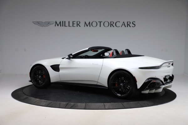 New 2021 Aston Martin Vantage Roadster Convertible for sale $189,186 at Pagani of Greenwich in Greenwich CT 06830 3