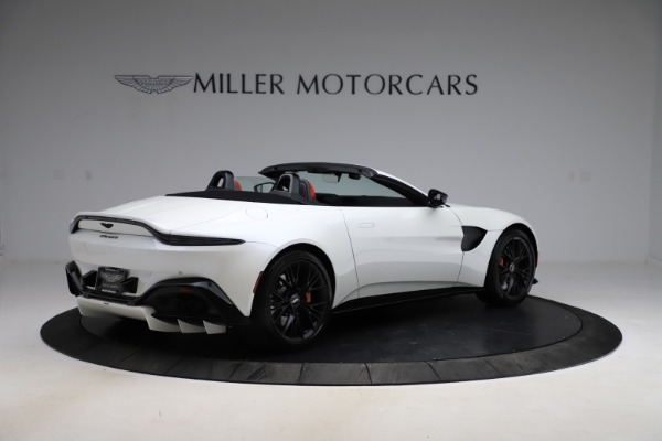 New 2021 Aston Martin Vantage Roadster Convertible for sale $189,186 at Pagani of Greenwich in Greenwich CT 06830 7