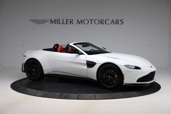 New 2021 Aston Martin Vantage Roadster Convertible for sale $189,186 at Pagani of Greenwich in Greenwich CT 06830 9